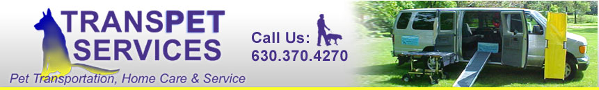 Transpet Services, pet transportation, home care and service